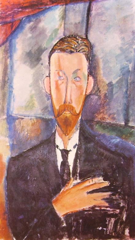Amedeo Modigliani: Ritratto di Paul Alexandre