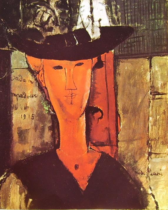 Amedeo Modigliani: Ritratto di Madam Pompadour