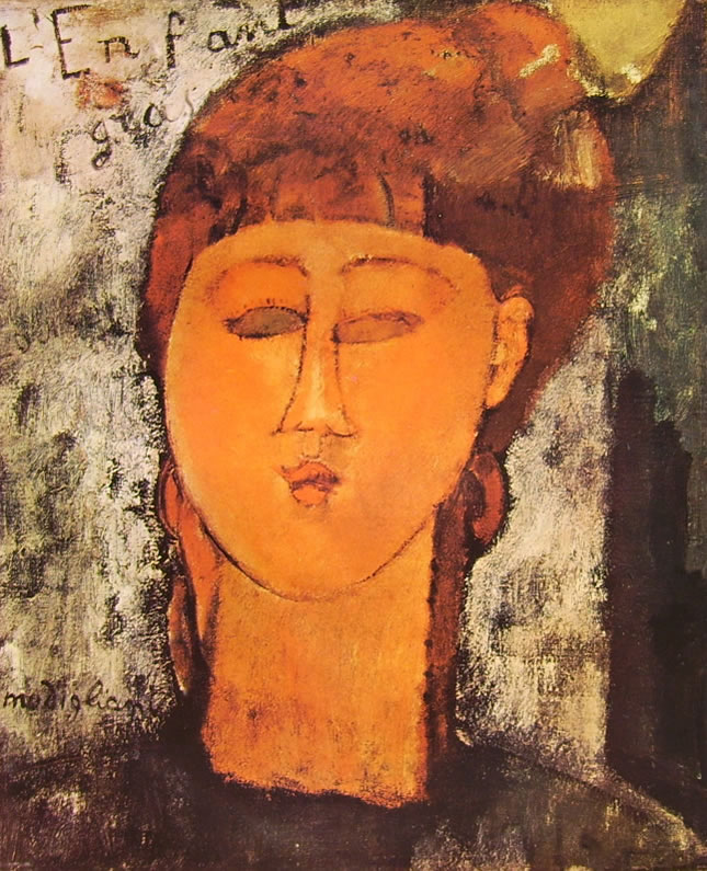 Amedeo Modigliani: L'enfant Gras