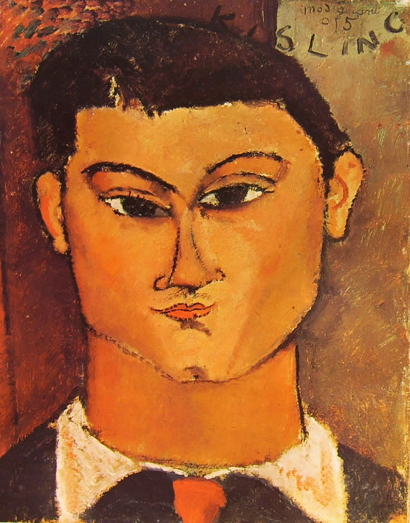 Amedeo Modigliani: Ritratto di Moise Kisling