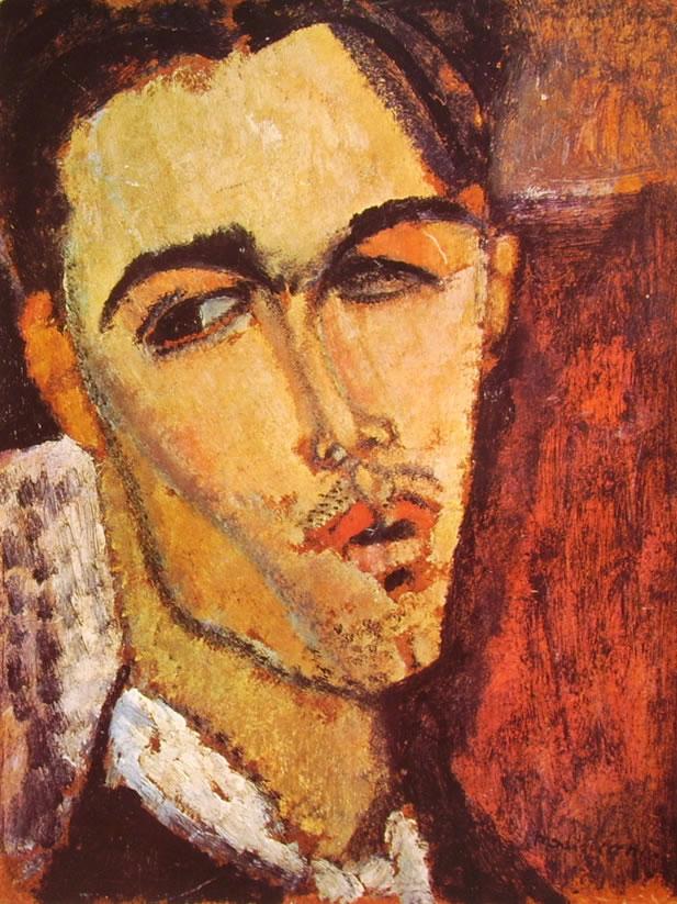Amedeo Modigliani: Ritratto di Celso Lagar