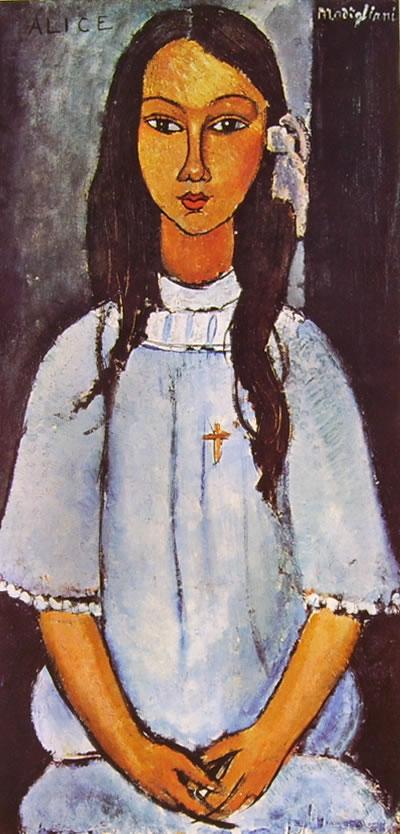 Amedeo Modigliani: Ritratto di Alice