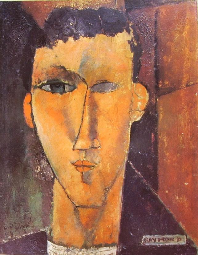 Amedeo Modigliani: Ritratto di Raymond