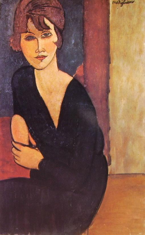 Amedeo Modigliani: Ritratto di Madame Reynouard