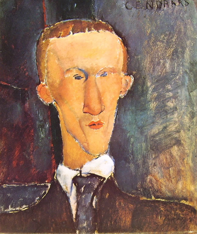 Amedeo Modigliani: Ritratto di Cendrars