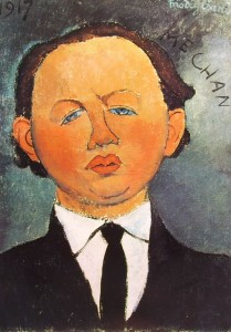 Modigliani: Mechan, cm. 46 x 33, Proprietà privata, Montreal.