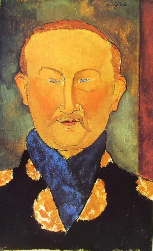 Amedeo Modigliani: Ritratto di Leon Bakst