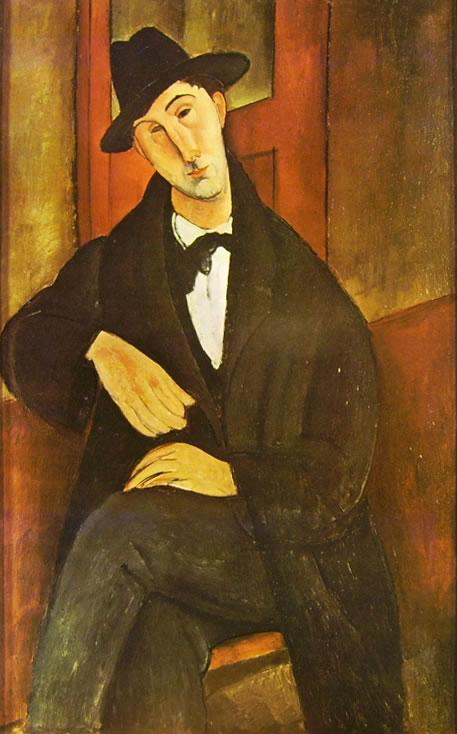 Amedeo Modigliani: Ritratto di Mario Varvogli