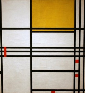 Piet Mondrian: Painting number nine, anno 1939.
