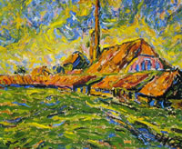Erich Heckel: Fornace (Dangast), anno 1907