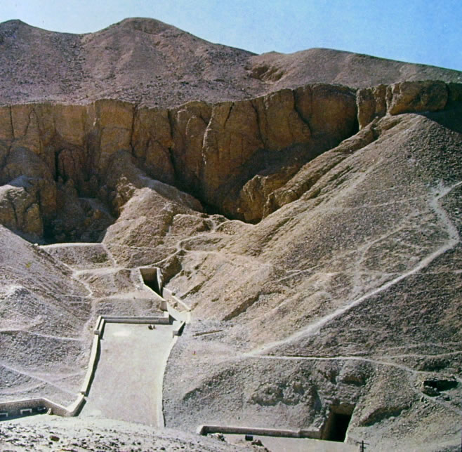antichi egizi - La valle dei re