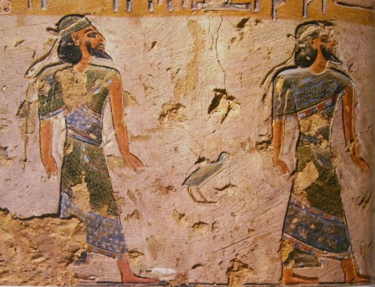 Tomba di Ramesse III (KV11) - Scene dal Libro delle Porte