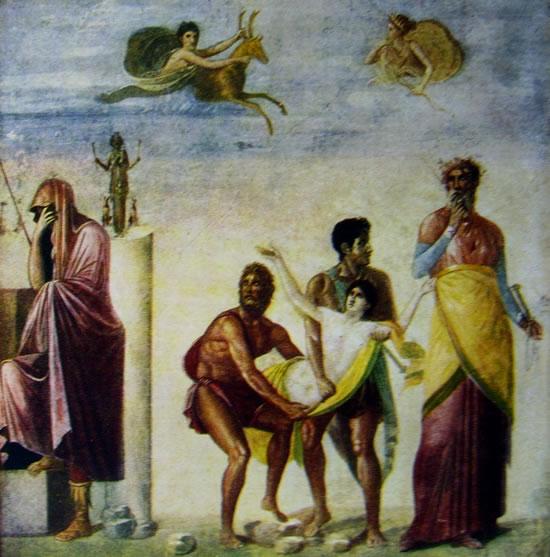Il sacrificio di Ifigena (Museo nazionale di Napoli)