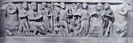 Sarcofago degli arieti (Museo Lateranense, Roma)