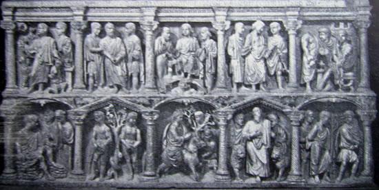 Sarcofago di Giunio Basso (Grotte Vaticane, Roma)