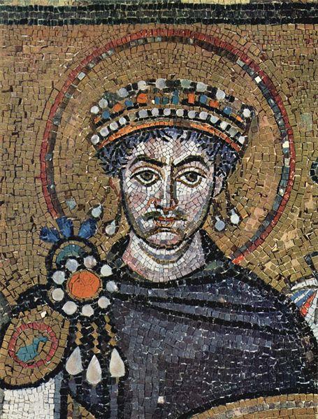 Imperatore Giustiniano(San Vitale, Ravenna)