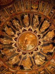 Mosaico della cupola del Battistero Neoniano (foto Wikipedia)