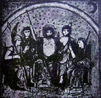 Gli dei (codice Vaticano Lat. 3867: Virgilio)