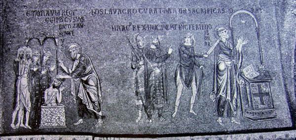 San Matteo battezza Fulvano re d'Etiopia: l'apostolo ucciso