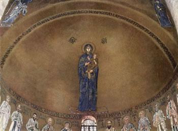 Vergine col Bambino e gli Apostoli: Duomo di Torcello