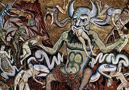 Coppo di Marcovaldo, Il Giudizio Universale (Inferno), Battistero di San Giovanni a Firenze