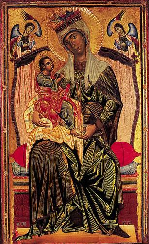 Coppo di Marcovaldo, Madonna con il Bambino, chiesa dei Servi di Orvieto