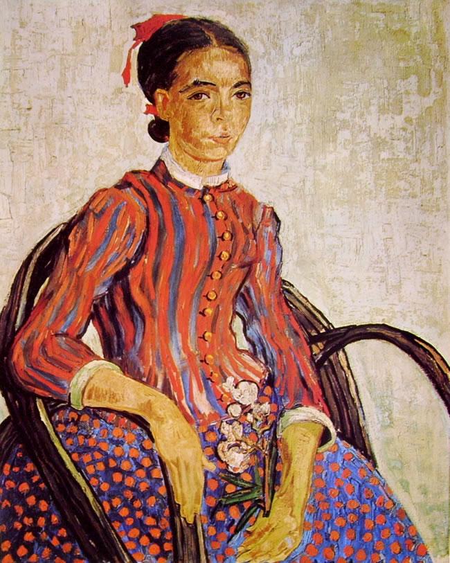 Vincent Van Gogh:La Mousmè