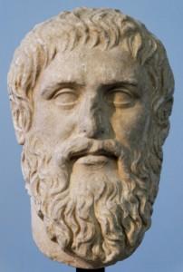Busto di Platone ritrovato nel 1925 a Roma