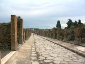 Scavi di Pompei - Via della Abbondanza