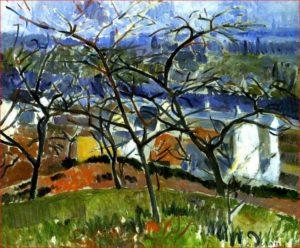 Andre Derain - Paesaggio vicino a Chateaux, 1904.