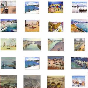 Alcune opere di Pierre-Albert Marquet