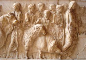 Suovetaurile - museo del Louvre