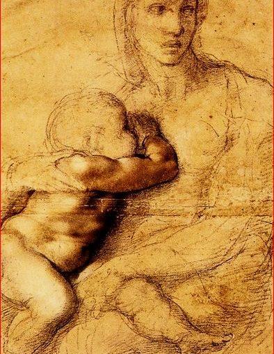 Madonna col Bambino di Michelangelo Buonarroti