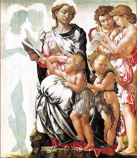 La Madonna di Manchester di Michelangelo Buonarroti
