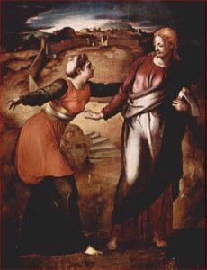 Noli me tangere, anno 1531