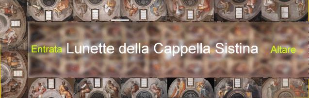 Le lunette di Michelangelo nella Cappella Sistina