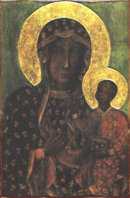 Autore ignoto: Nella Madonna Nera di Częstochowa