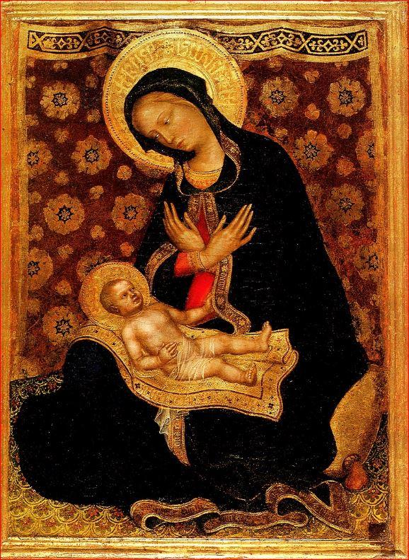 Gentile da Fabriano - Madonna dell'Umiltà (intorno al 1420)
