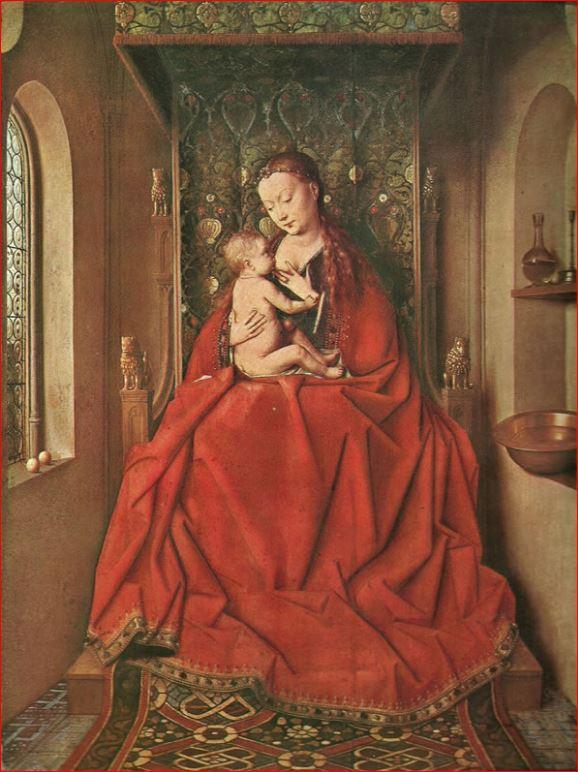 Jan Van Eick: Madonna di Lucca (intorno al 1433), Städelsches Kunstinstitut di Francoforte