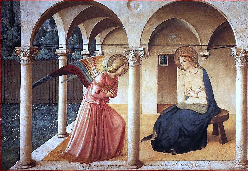 Beato Angelico - Annunciazione del corridoio nord