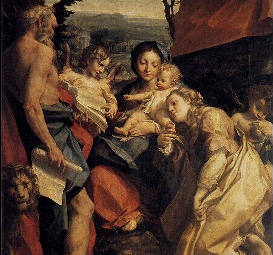 Correggio: Il giorno, assieme di 205 x 141 Parma Galleria