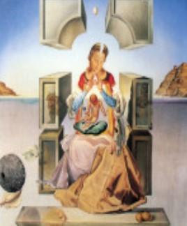 Salvator Dalì - Madonna di Port Lligat (1949)