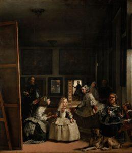 Diego Velázquez: Las meninas, tecnica olio su tela, anno 1656, dimensioni 318×276 cm, Museo del Prado, Madrid