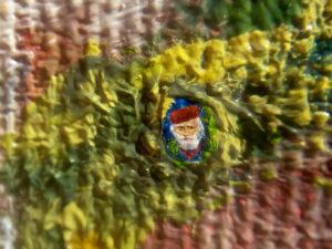 Ritratto microscopico di Garibaldi